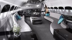 Greenpoint Delivers the World's First Private 747-8 Interior   Aviation   Robb Report - The Global Luxury Source