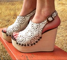 Jeffrey Campbell Snick Lace $149.95 http://www.ashburyskies.com/shoe-designers/jeffrey-campbell-shoes/jeffrey-campbell-snick-lace-platform-sandal/?color=236