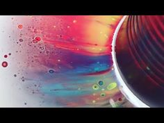 Fluid Painting Dirty Pour Cup POPPING!! Really neat technique Please Watch!! - YouTube