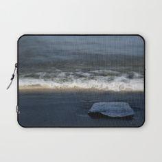 Wave Of Light Laptop Sleeve by ARTbyJWP - $36.00