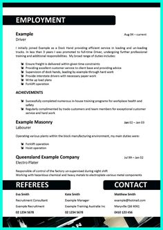 nice Simple but Serious Mistake in Making CDL Driver Resume, Check more at http://snefci.org/simple-but-serious-mistake-in-making-cdl-driver-resume