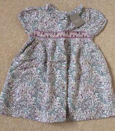 BNWT Baby Girl bird summer spotty bird dress outfit clothes 9-12 12-18 18-24