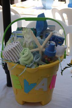 Beach baby shower gift idea