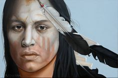 My fav face she's painted...Years Have Gone by K Henderson - Artist Daily