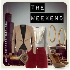 Weekend Fall Chicago Wear by chicagoings, via Polyvore
