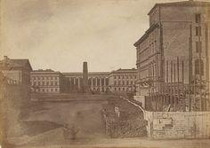 Warszawa, Pałac Saski 1855