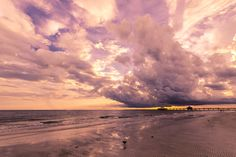 lavender sky ©Briana Lee Photography #sunsetphotography #sunset #photography #photographyideas #nature #naturephotography #stunning #brilliant #beautiful #fortmyers #ocean #storm #wideanglelens
