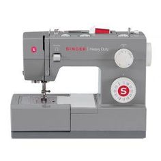 The Singer Scholastic heavy duty mechanical sewing machine is a true workhorse. With a heavy duty metal interior frame, stainless steel bed plate, extra-high sewing speed and powerful motor, the SINGER Scholastic sewing machine can sew through Janome, Pfaff Creative, Singer Facilita, Machine Singer, Sewing Hacks, Sewing Crafts, Sewing Projects, Sewing Diy, Learn Sewing