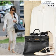 "Casual outfit...""647. Celebrity Style: Kim Kardashian"" by chocolatepumma on Polyvore"