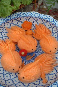 Au départ, ce sont des carottes...