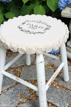 Make over a plain wooden stool with a little dropcloth! Confessions of a Serial Do & Make over a plain wooden stool with a little dropcloth ... islam-shia.org