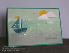 Shimmer and Shine - Good Times - #StampinUp, #PunchArt, #SoYou, #LargeScallopEdgelit