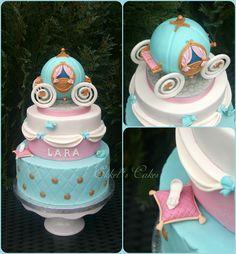CINDERELLA Cake торт принцесса золушка карета