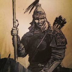 Fantasy Portraits, Character Portraits, Karate Styles, Character Inspiration, Character Design, Arcane Trickster, Genghis Khan, Body Sketches, Fantasy Warrior