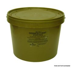 Gold Label Disinfectant Powder Contains a potent yet pleasant oxygen releasing agent that is effective against bacteria viruses and fungi.