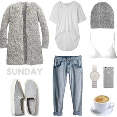 Sunday Style by fashionlandscape on Polyvore featuring мода, Opening Ceremony, T By Alexander Wang, American Eagle Outfitters, Braun, Monki, Case-Mate and Rip Curl