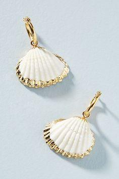 126591b8d Amber Sceats Cordelia Drop Earrings | Shell Statement Jewelry