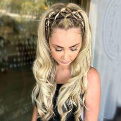 74 Trendy Frisuren, die Sie ausprobieren sollten – coole einfache Frisuren, Somm… 74 Trendy Hairstyles That You Should Try – Cool Simple Hairstyles, Summer Hairstyles # Hairstyles # Hair # Hair # Braids # Braid … out Cool Easy Hairstyles, Box Braids Hairstyles, Girl Hairstyles, Hairstyle Ideas, Short Summer Hairstyles, Teenage Hairstyles, Style Hairstyle, Hairstyles 2018, Pretty Hairstyles