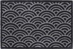 Turtlemats Doormat Scrolls Grey 60x85cm