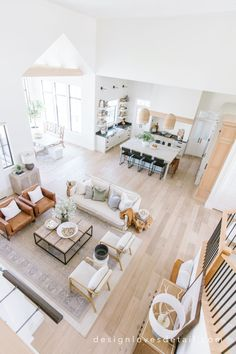 Fall Home Tour: Living Room + Studio McGee Target faves! Home Living Room, Interior Design Living Room, Living Room Designs, Living Room Decor, Living Room And Kitchen Together, Long Living Rooms, Modern Living Room Design, Target Living Room, Kitchen Family Rooms