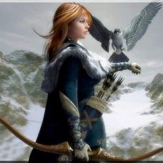 lady and the falcon