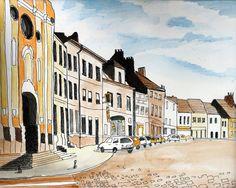 France No 2 - Fine Art Print by Leshasartshop on Etsy #art #handmade