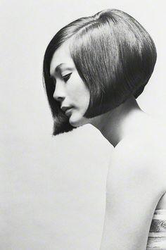 Nancy Quan: The Bob cut by Vidal Sasson, photographed by Terence Donovan