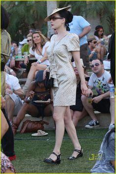 Katy Perry & Dita Von Teese: Coachella Chicks | dita von teese katy perry coachella day 3 19 - Photo