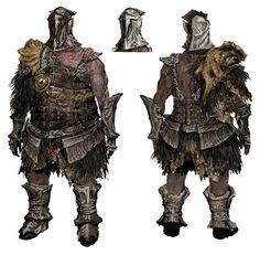 // Knights of Gwyn Concept Art //