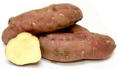 The Boniato potato has the same distinct shape as other sweet potatoes, roughly ovate and tubular with tapered ends. Its skin color varies with each variety...
