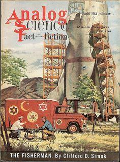 Analog Science Fact - Fiction, April 1961