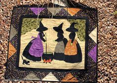 Just Let Me Quilt   aren't these the cutest witches you've ever seen?