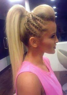 Gorgeous hair braiding idea