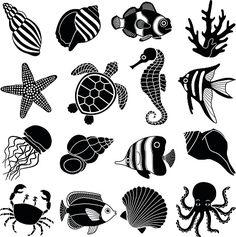 Creature marine icone