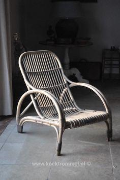 rieten veranda stoel