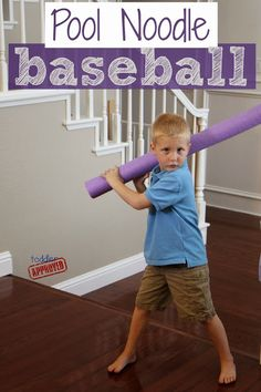 Yes, yes, yes! Play therapy! I've even used an empty cardboard tube from wrapping paper in my office! Love teh pool noodle! ~ Wendy @Kidlutions Toddler Approved!: Simple Weekend Flying Fun For Kids
