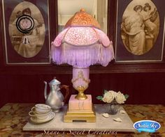 A Sweet Farewell to Downton - Lamp Cake - Cake by Shani's Sweet Creations