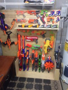 This Nerf Gun Display Case Is Both Awesome And Easy To Build