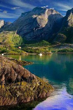 Summer in Jektvik, Norway