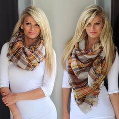 GET READY FOR WINTER with our adorable Mustard Plaid Frayed Blanket Scarf! This gorgeous accessory is just what your wardrobe needs. It's perfect to pair with every outfit for a fun, casual look. Plus, this scarf has endless ways to style it! Grab this adorable scarf today! See this scarf in other colors at our online boutique!