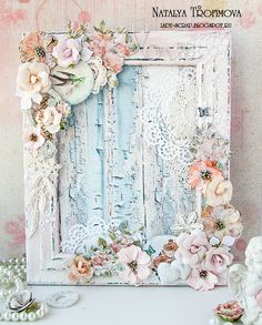 Frame Altered to Shabby ChicShabby Chic Decor For Classroom Vintage Shabby Chic Online ShopsVintage Shabby Chic Home Decor Shabby Chic Inspirations And Beautiful SpacesThriftcycled Picture Frame Refashioned Into Mixed Media Altered ArtShabby Chic Fre Vintage Shabby Chic, Shabby Chic Homes, Shabby Chic Style, Shabby Chic Decor, Shabby Chic Flowers, Shabby Chic Karten, Shabby Chic Cards, Altered Canvas, Altered Art