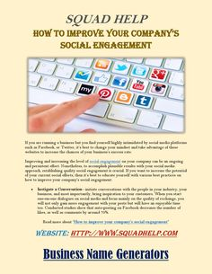 How to improve your company's social engagement