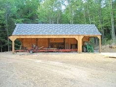 I am thinking of building a sawmill shed for my mill. Pictures would be nice. As of now I have a metal or portable shed that is on Portable Sheds, Portable Saw Mill, Lumber Mill, Wood Mill, Shed Building Plans, Shed Plans, Woodworking Projects Plans, Diy Woodworking, Chainsaw Mill