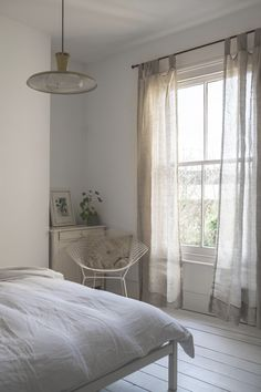 Windows are the eyes of the room so make yours sparkle! A brand new addition to the Piglet homeware line, these semi-sheer curtains will add warmth and lightness to any space. They feature a beautiful, natural linen texture, wide hem and fabric loops for easy, fuss-free hanging. Sizing:Short: 122 x 215cm (each)Long: 122 x 250cm (each) FREE shipping in the UK - International shipping available. Piglet Linen Curtains (Pair) Size 122 x 250cm Beautiful Home Designs, Beautiful Homes, Linen Curtains, Spare Room, Natural Linen, Living Room Designs, House Design, Bedroom, Sparkle