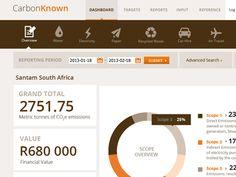 carbon footprint web app