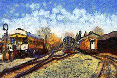 Vincent Van_Gogh Gare