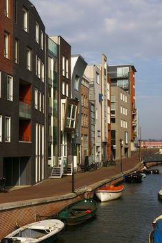 Lamonggracht, Java-eiland, Amsterdam.