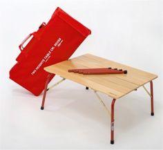 イタリア製 折りたたみ木製テーブル M 80 X 60cmo