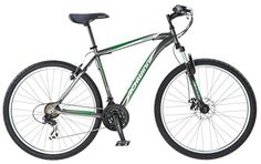 Special Offers - Schwinn Mens S4070TG Approach AL Mountain Bike  18/Medium Black - In stock & Free Shipping. You can save more money! Check It (July 10 2016 at 04:19PM) >> http://cruiserbikeswm.net/schwinn-mens-s4070tg-approach-al-mountain-bike-18medium-black/