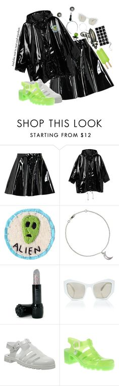 """""""I got abducted by NASA and all I got was this lousy tee shirt."""" by kjvlulu ❤ liked on Polyvore featuring Boohoo, Monki, Rock Rebel, Anna Sui, Prism, JuJu and Chanel"""
